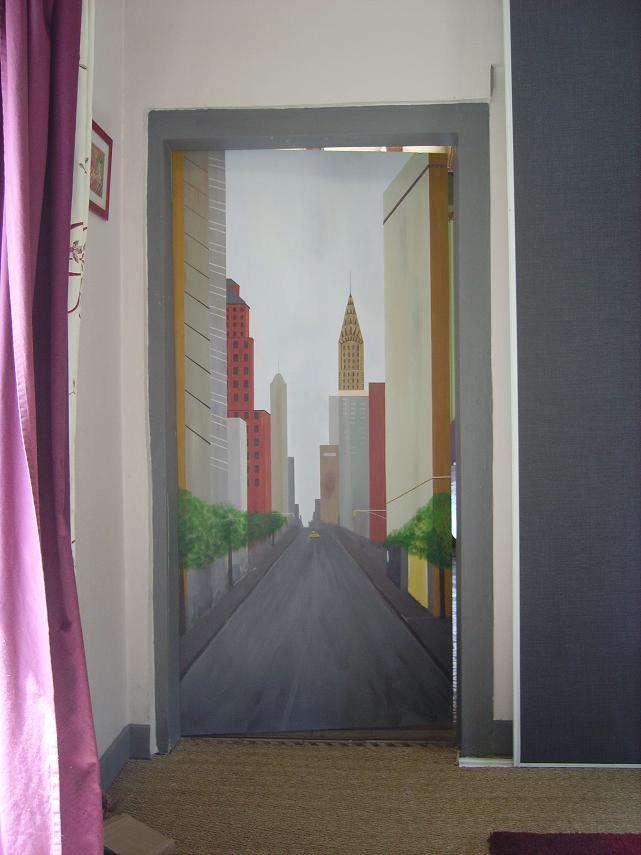 La porte for Miroir qui s accroche a la porte